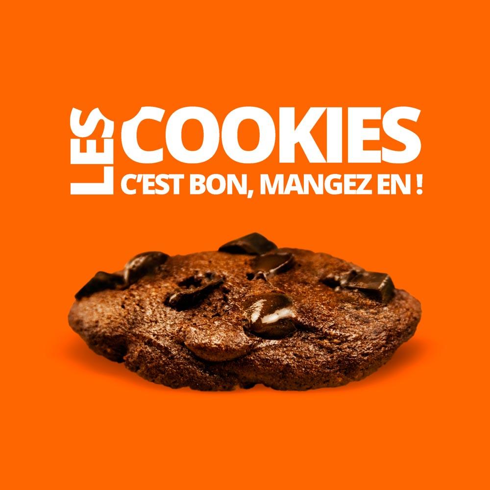 Les cookies c'est bon, mangez-en !
