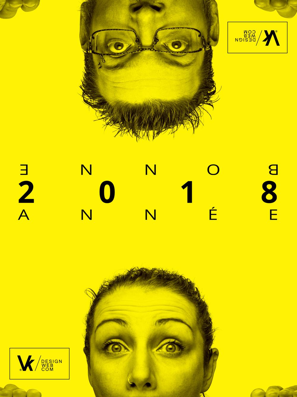Claire et Cédric vous souhaite une bonne année 2018